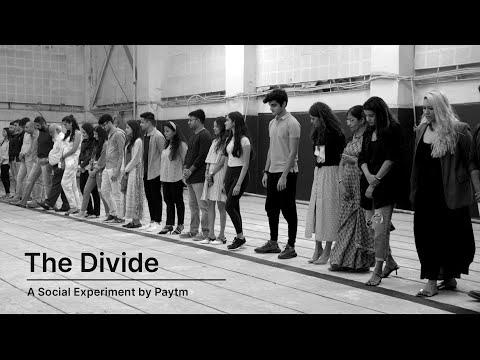 "Paytm presents ""The Divide"" | A Social Experiment"