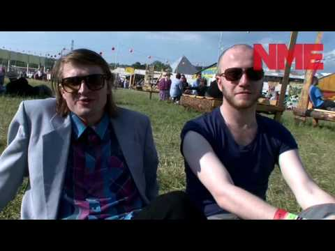 Wild Beasts at Glastonbury Festival 2010.