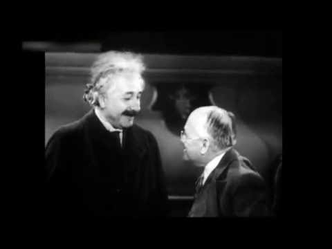 Albert Einstein spricht Deutsch - Seltene Filmaufnahme