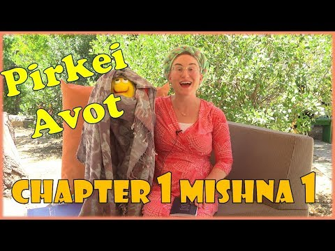 Pirkei Avot - Chapter 1 Mishna 1 - what is the oral Torah? Judaism for Kids