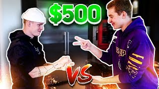 EVERY WIN GETS $500... EXTREME ROCK, PAPER, SCISSORS!!