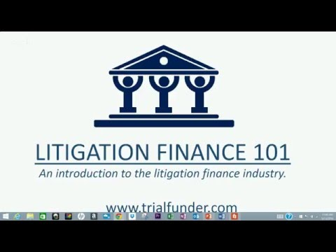 Free Webinar: Litigation Finance 101