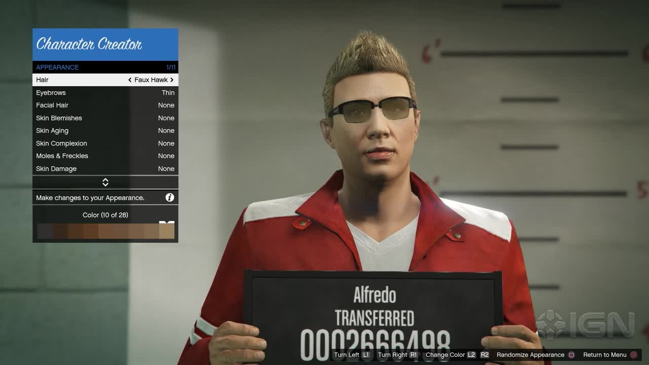 Gta 5s new character customization ign plays youtube voltagebd Images