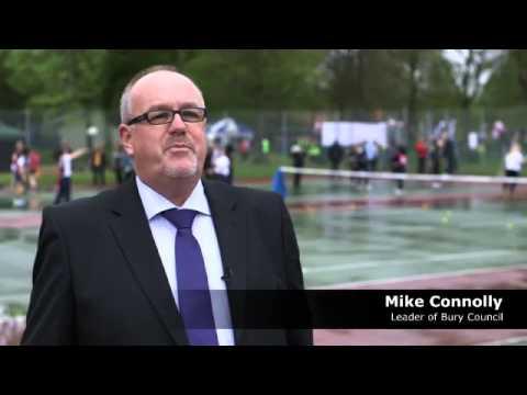 Investing in women's sport in Bury
