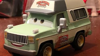 Cars 3 Deluxe Roscoe review