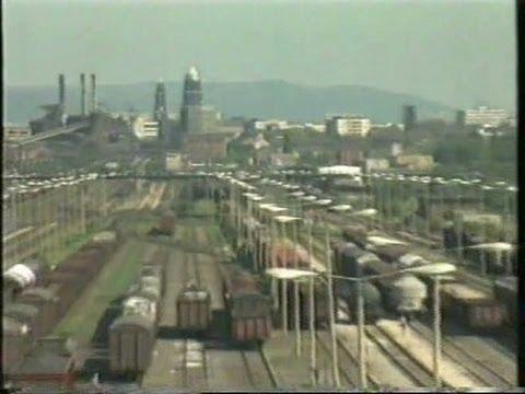 Verkehrsmisere in der DDR 1990(BR Bericht 17.5.90 mit Friedrich Merz)
