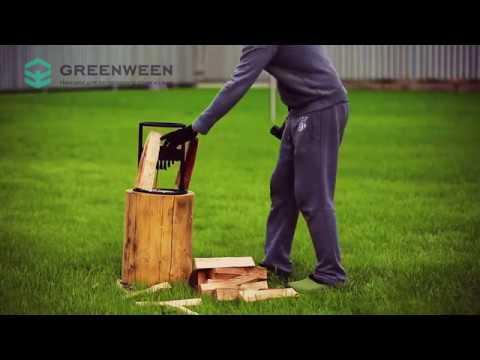Дровокол GreenWeen для дома, дачи или бани на BarbecueGrill.ru
