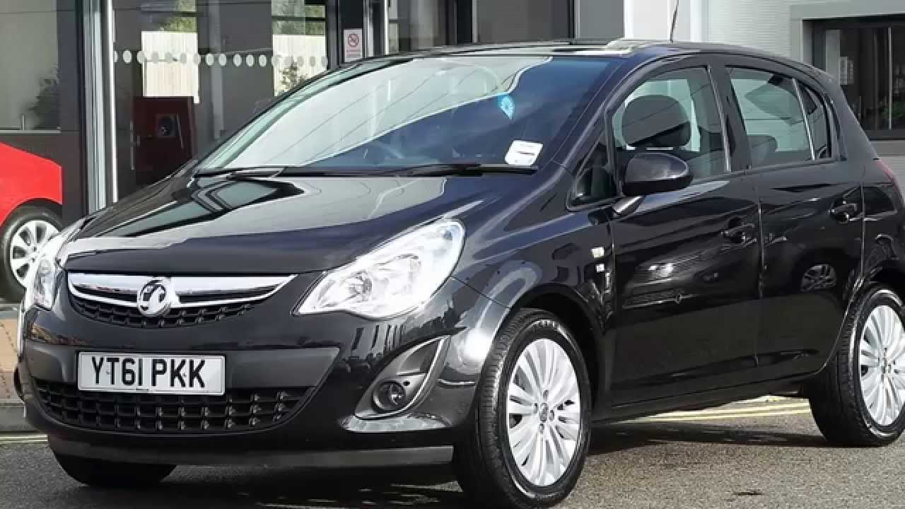 2011 61 plate vauxhall corsa 1 3 cdti ecoflex excite 5dr in black youtube. Black Bedroom Furniture Sets. Home Design Ideas