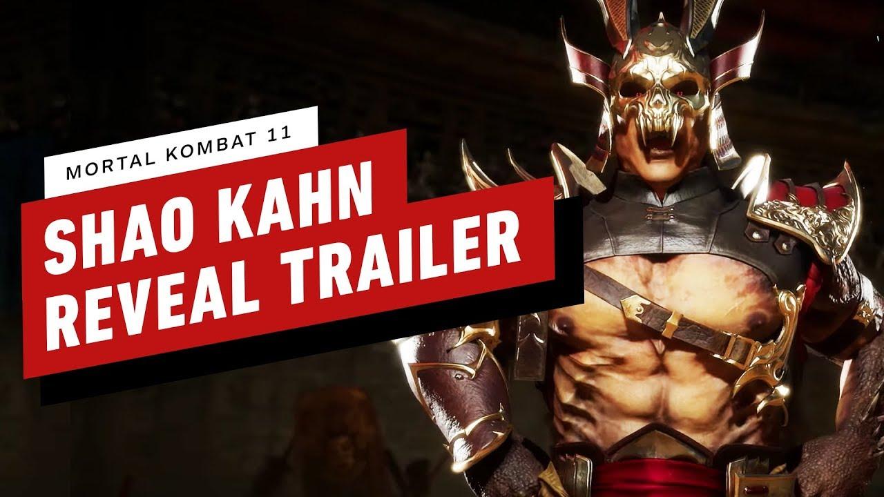 Mortal Kombat 11 - Shao Kahn Gameplay Reveal Trailer + video