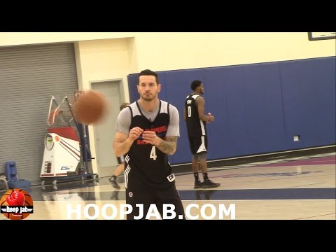 J.J. Redick Shooting Practice. HoopJab NBA