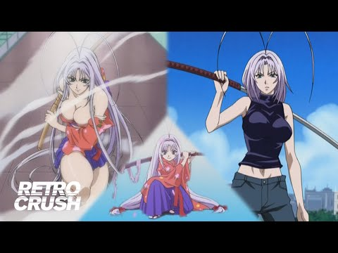 Don't mess with the tiny girl at school!   Maya's Best Fight Scenes from Tenjho Tenge