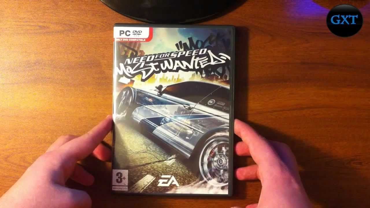 (NFS) Need For Speed Most Wanted 2005 Video Game Unboxing-Overview HD 720P