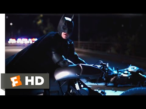 The Dark Knight Rises (2012) - Batpod Chase Scene (2/10)   Movieclips