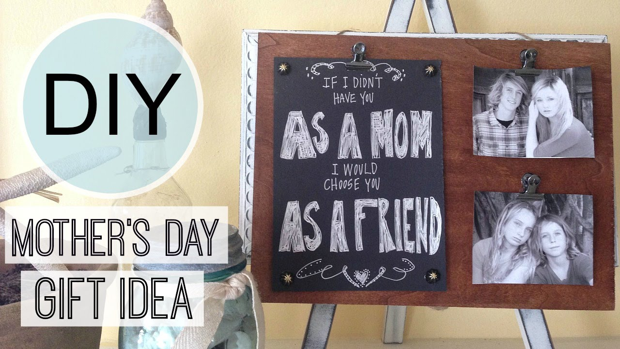 Mother\'s Day Gift Idea | Photo Frame | Michele Baratta - YouTube