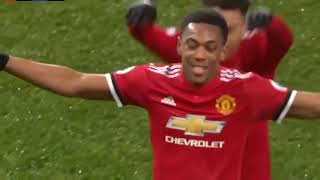 MU vs Stoke 3 - 0 Highlight & All Goal 15 January 2018