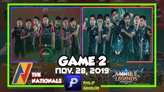 [GAME 2] PSO VS HFE | THE NATIONALS ML CONFERENCE 2 | DAY 11 | Mobile Legends