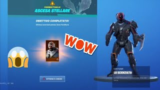"I unlocked the new ""The Scientist"" skin on FORTNITE"