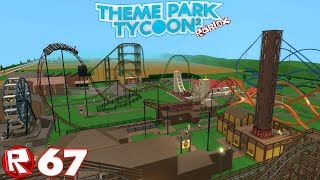 Roblox - Episode 67 | Theme Park Tycoon 2 - On Ride Tour / FR