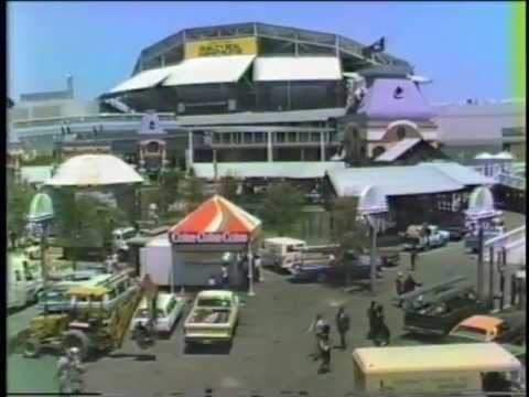 A Trip around the 1984 World's Fair on the Monorail