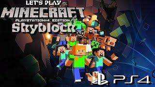 Minecraft #SKYBLOCK vorbereitet Deutsch [HD+] Let´s Play Minecraft PS4