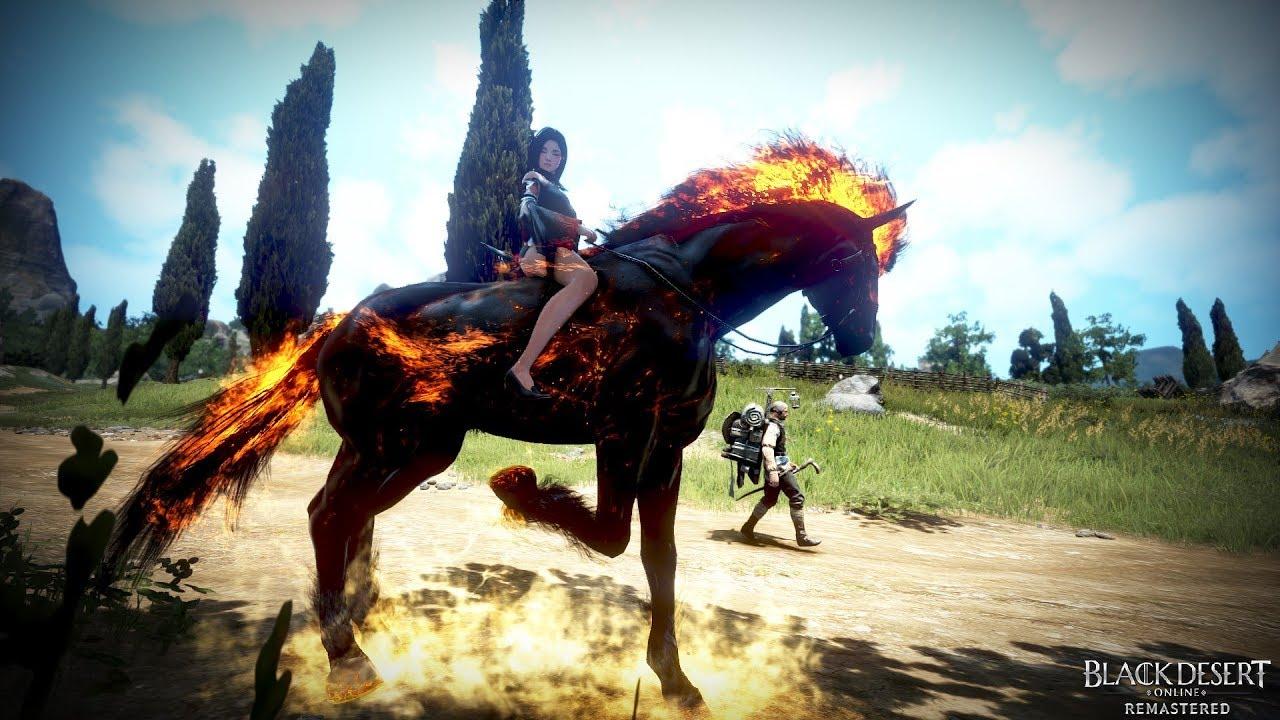 Black Desert Online - Doom, the Fire Horse - YouTube