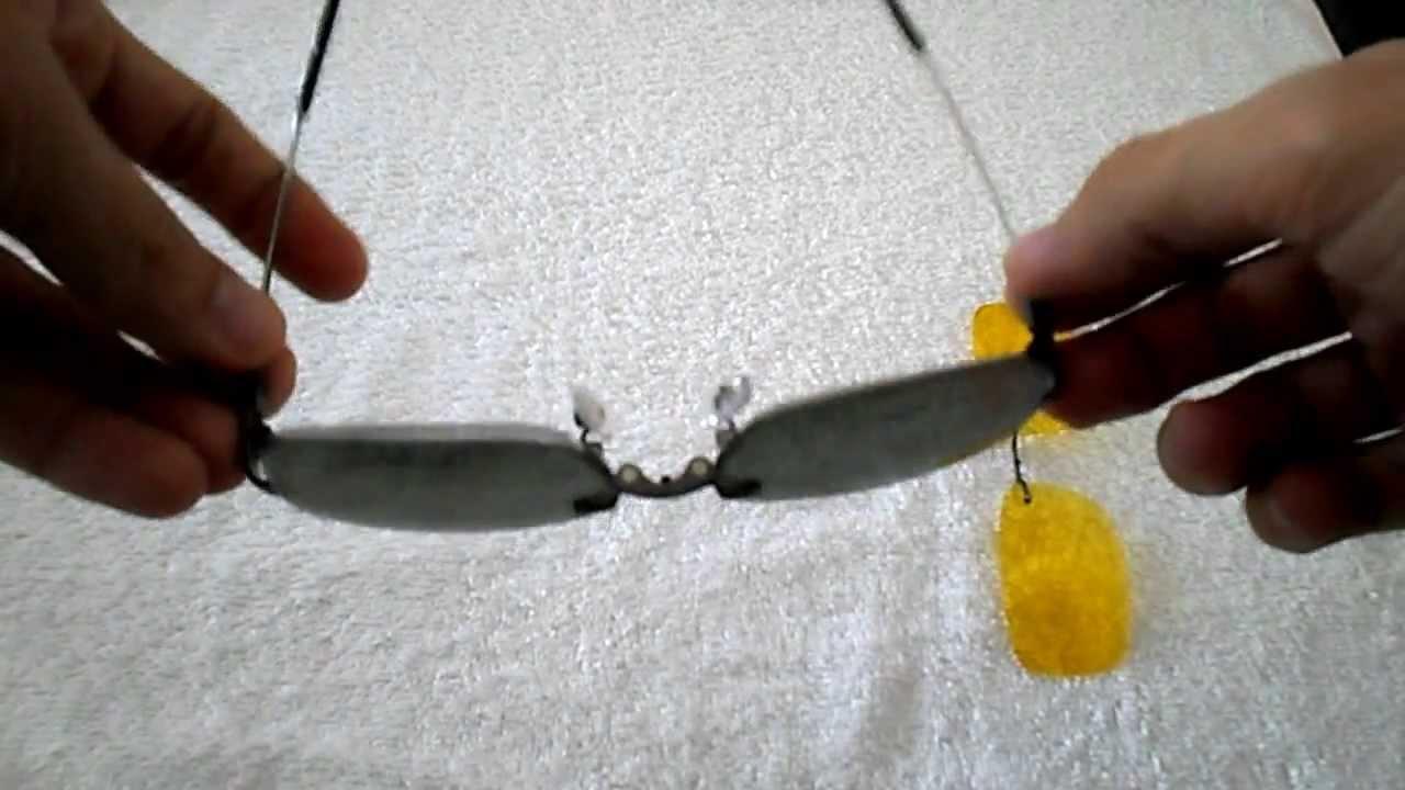 3abbfb130e465 Armação para Óculos em Titânio Memory + Clip-on polarizado - YouTube