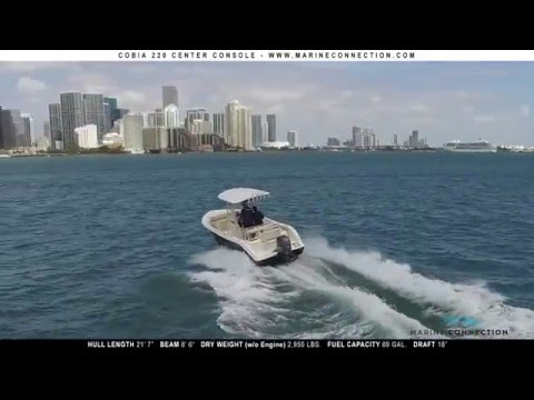 2016 Cobia 220 Center Console overview by Marine Connection Boat Sales