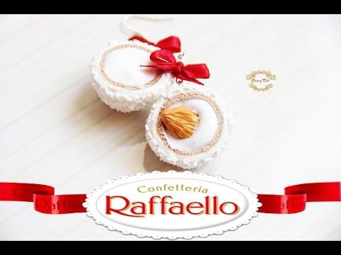 Мастер-класс конфеты Рафаэлло из полимерной глины FIMO/polymer clay tutorial без регистрации и смс