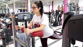 Моя тренировка в тренажерном зале с 7 грыжами Для девушек