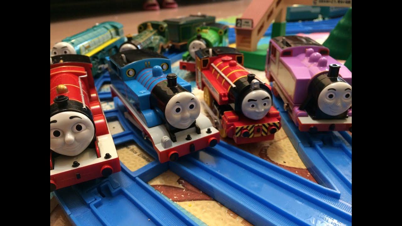 Train jouet thomas et ses amis x 12 00250 fr youtube - Train thomas et ses amis ...