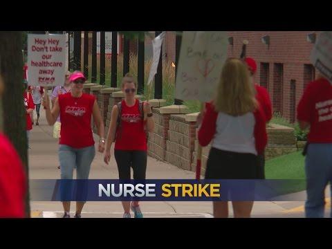 Allina Nurses Strike Begins As Negotiations Stall