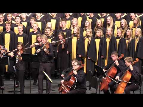 Rejoice The Lord Is King - Dan Forrest- CovenantCHOIRS - Combined With The PRSO