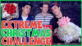 EXTREME CHRISTMAS CHALLENGE w/ THE DOLAN TWINS