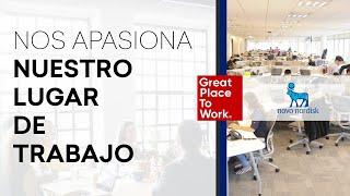 """Novo Nordisk - """"Nos apasiona ♥ Nuestro Lugar de Trabajo"""" #1"""
