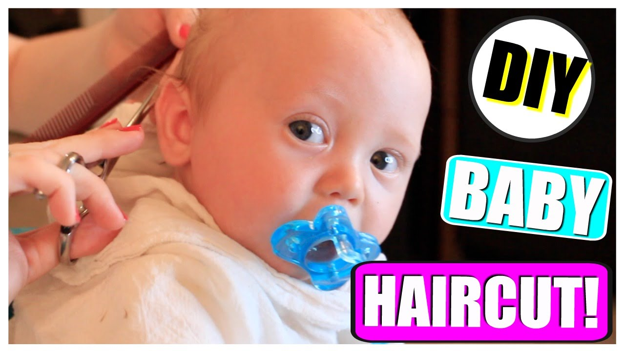 Diy Baby Haircut How To Baby S Hairstyle First Haircut Tutorial