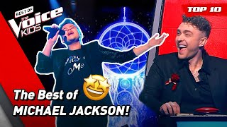 The BEST of the King of Pop MICHAEL JACKSON in The Voice Kids! 🤩  Top 10