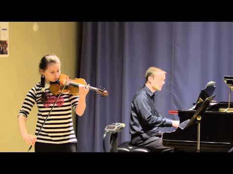Bloomingdale School of Music 2/12/15 MAP Recital: Amanda Weisberg
