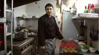 Приготовление рулета из семги