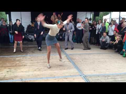 Dancers from Chicago Swing Dance Studio @ Stockholms Kulturfestival - part 2