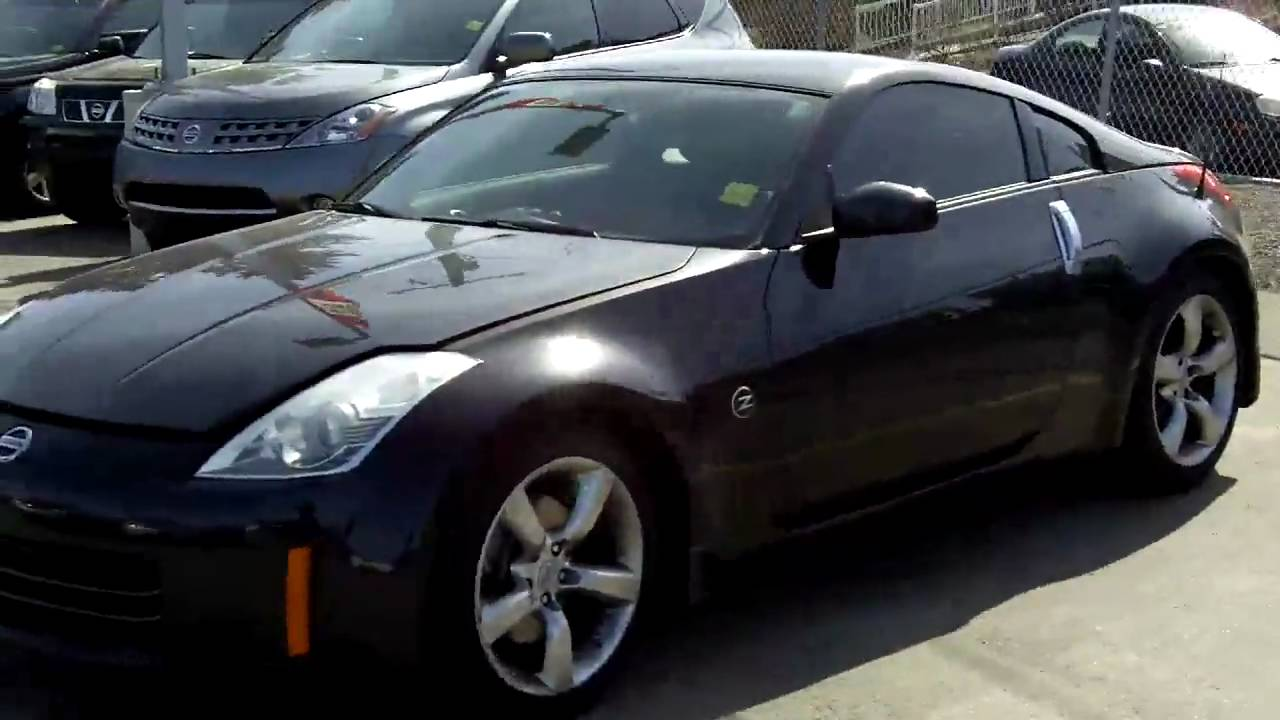2006 Nissan 350z Black Fish Creek Nissan Youtube