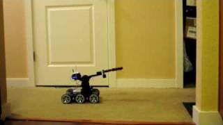 Weimaraner Vs Robot For Treat 2