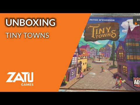 Tiny Towns Unboxing