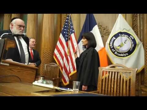 Ruchie Freier Inducted As Civil Court Judge