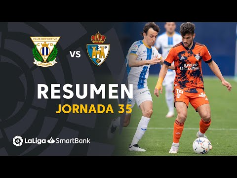 Leganes Ponferradina Goals And Highlights