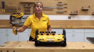QUICK START: DEWALT Portable Power Station™ and Parallel Battery Charger
