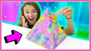 ADDING TOO MANY INGREDIENTS TO SLIME | Kayla Davis