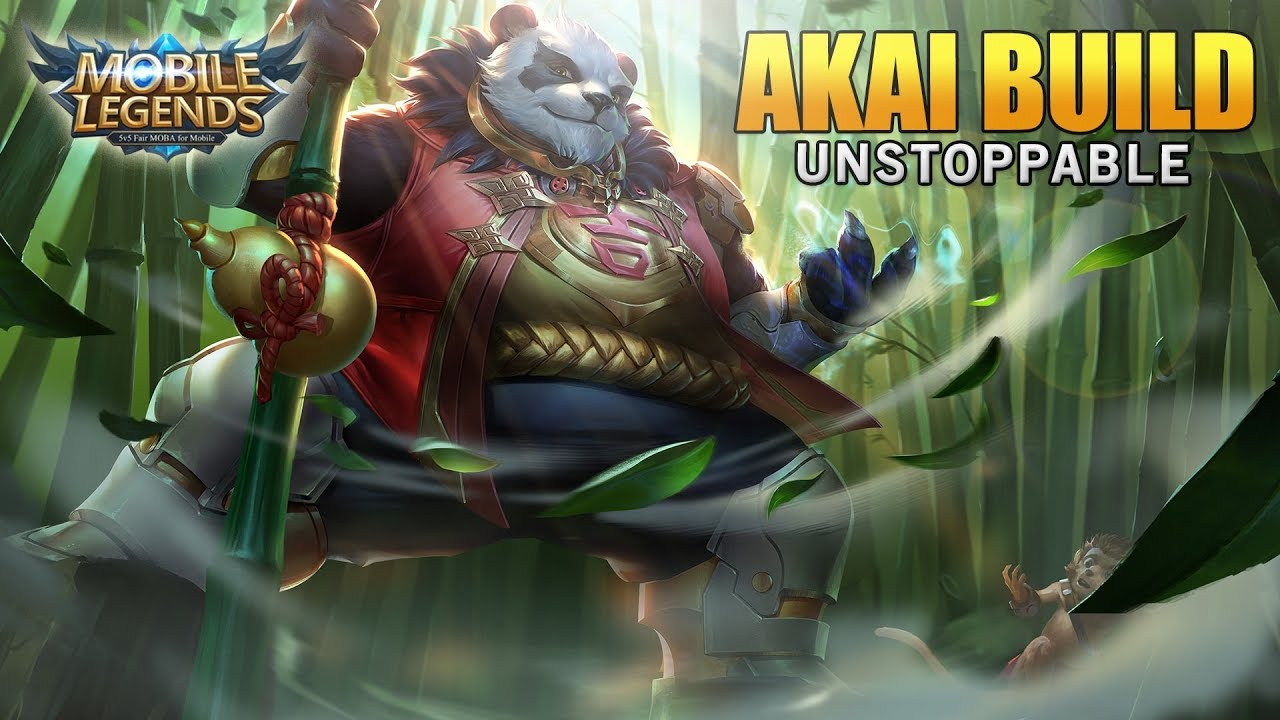 Mobile Legends Akai Unstoppable Build