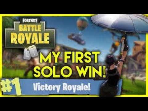 Fortnite : Trying To Get My 1st Solo Win