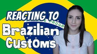 American Reacting to Brazilian Traditions 🇧🇷