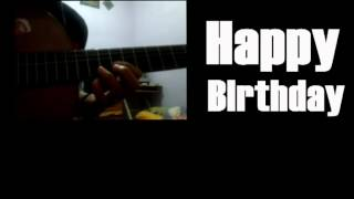 AKUSTIK LAGU HAPPY BIRTHDAY (COVER)